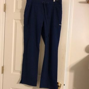 Grey's Anatomy navy blue scrub pant